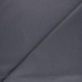 Tissu Coton huilé Hunter - gris x 10cm