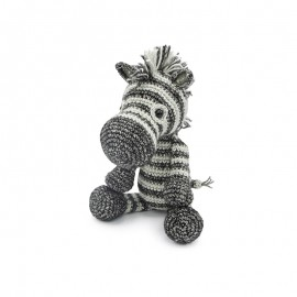 Crochet kit - Dirk the zebra