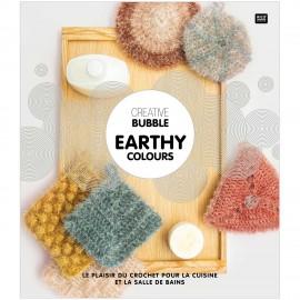 """Livre """"Creative Bubble - Earthy Colours"""""""