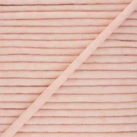 Mottled knit cord - light pink x 1m