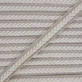 Braid trimming Summer - grey x 1m