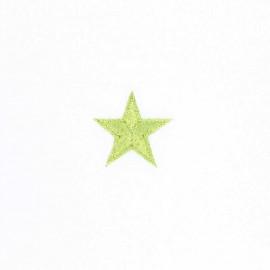 Iron-on patch Estrella - anis green