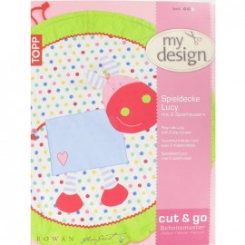 """Play mat """"Lucy with 2 play houses, by My Design - multicolored"""