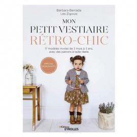 """Livre """"Mon Petit Vestiaire Rétro-Chic"""""""