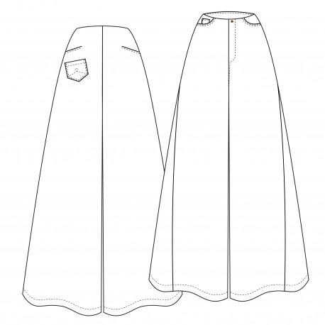 Patron Pantalon Lot of Things - Gendarmette