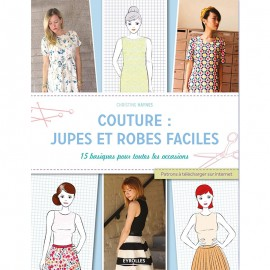 "Book ""Couture: jupes et robes faciles"""