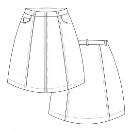 Skirt Sewing Pattern - Lot of Things Scarlett