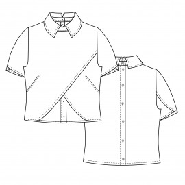 Blouse Sewing Pattern - Lot of Things Bennet