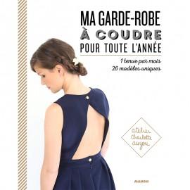 """Livre """"Ma garde-robe à coudre pour toute l'année"""""""