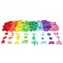 Foam Shapes (400 pcs) - Objects & Animals