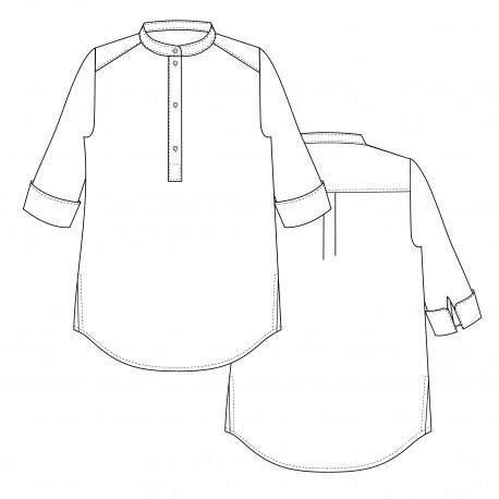 Shirt Sewing Pattern - Lot of Things Ricard