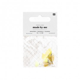 Set de 6 mini glands 11mm - Yellow Mix