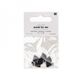 Set de 6 mini glands 11mm - Black Mix