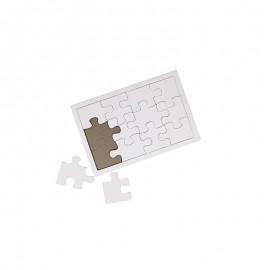 Puzzle (12 pièces) - Blanc