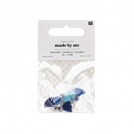 Set de 6 mini glands 11mm - Blue Mix