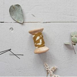 Biais Atelier Brunette Shade - Ochre x 1m