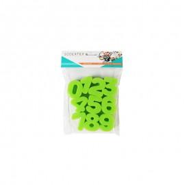 Tampon éponge (Pack de 10) - Chiffres