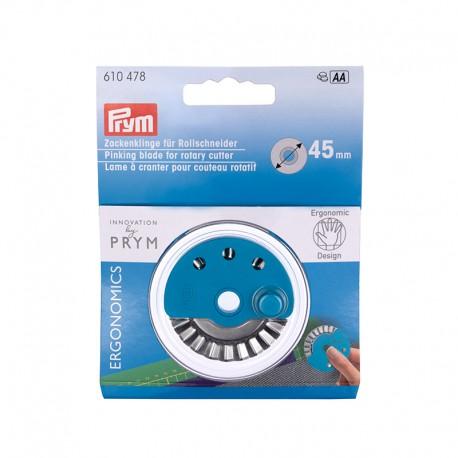 Lame Rotative Ergonomics 45 mm - Coupe crantée - Prym