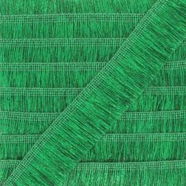 Fringe Braid Trimming - green Saturday night fever x 1m