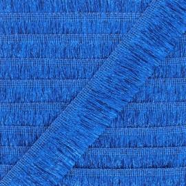 Fringe Braid Trimming - blue Saturday night fever x 1m