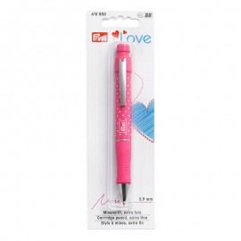 Cartridge pencil Prym Love - fuchsia