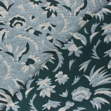 Walkie Talkie Jacquard fabric - black/white Origami x 10cm