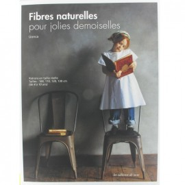 """Book """"Fibres naturelles pour jolies demoiselles"""""""