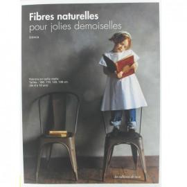 """Livre """"Fibres naturelles pour jolies demoiselles"""""""