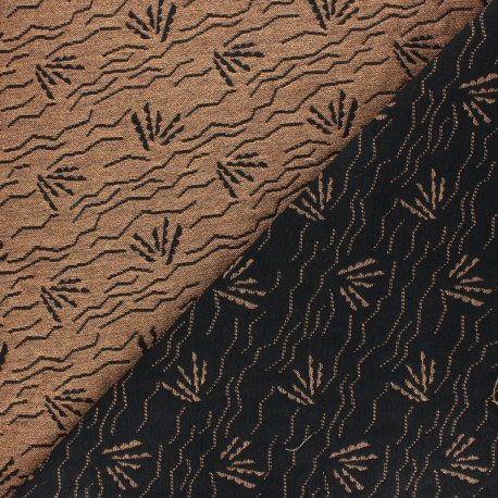 Walkie Talkie Jacquard fabric - Desert sunrise Dune x 10cm
