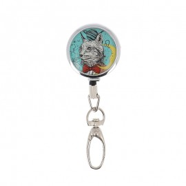 Bohin retractable scissors holder - Cat