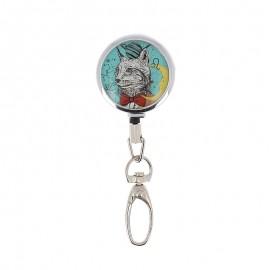 Bohin retractable scissors holder - Cat