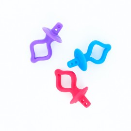Porte-canettes silicone - lot de 3