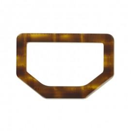 Joined Ring 40 mm - tortoiseshell