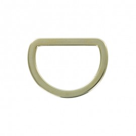Joined D Ring 30 mm - metal