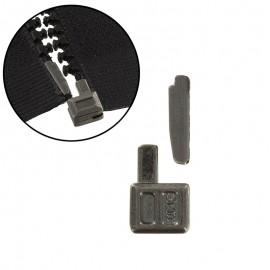 Repair zipper kit - black