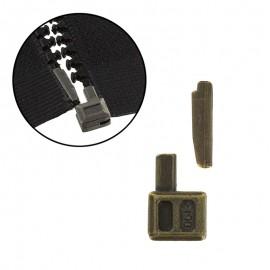 Repair zipper kit - old brass