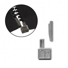 Repair zipper kit - silver