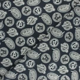 Tissu coton Marvel Avengers - gris x 10cm