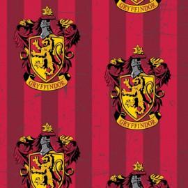 Harry Potter Fleece fabric - Gryffindor x 30cm