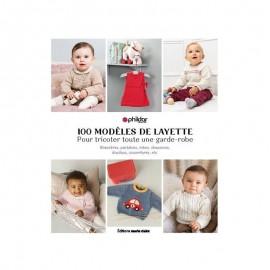 """Livre """"100 modèles de layette pour tricoter toute une garde-robe"""""""