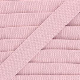 30 mm Plain Polycotton Strap - light pink x 1m