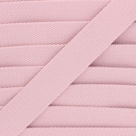 Sangle Polycoton 30 mm - rose clair x 1m