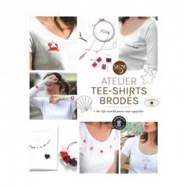"Livre ""Atelier tee-shirts brodés"""