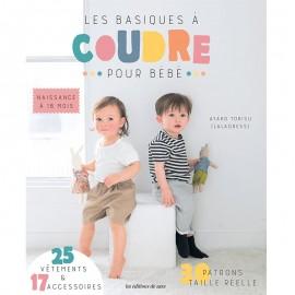 """Livre """"Les basiques à coudre pour bébé"""""""
