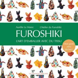 """Book """"Furoshiki - l'art d'emballer avec du tissu"""""""