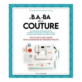 "Book ""Le B.A.-BA de la couture"""