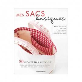 """Book """"Mes sacs basiques - 30 projets très astucieux"""""""