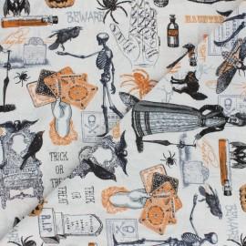Tissu Coton Timeless Treasures - Halloween Night x 10cm