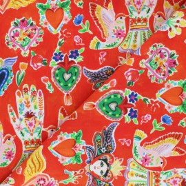 Dear Stella Cotton fabric - Viva Mexico Milagros x 10cm