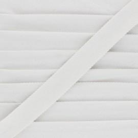 Folded Velvet Bias Binding - raw x 1m